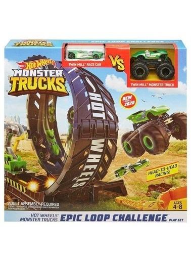 Hot Wheels  Monster Trucks Efsane Çember Aksiyonu Oyun Seti Gky00 Renkli